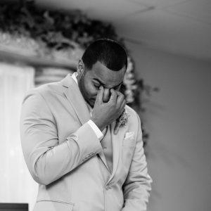 Best Wedding Ceremony Black and White Groom