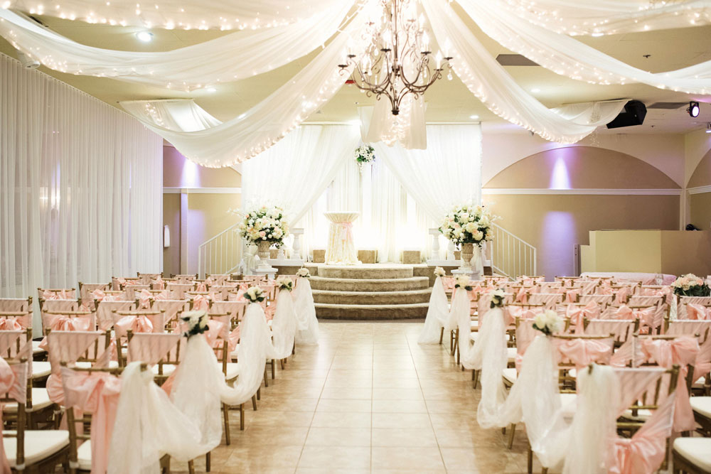 We Are In Love With How Soft And Elegant Our Venue Looks Touches Of Blush Ivory