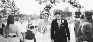 Outdoor Wedding Venue Locations Walking Down the Aisle