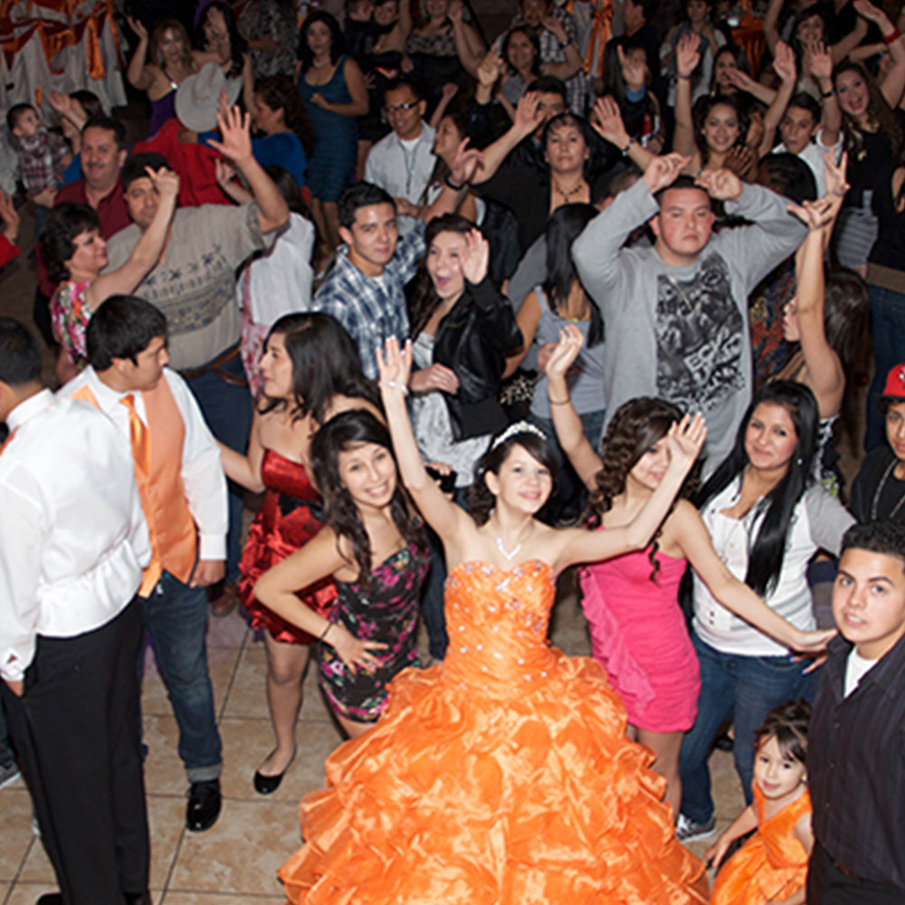 Quinceanera Reception Locations Dancing
