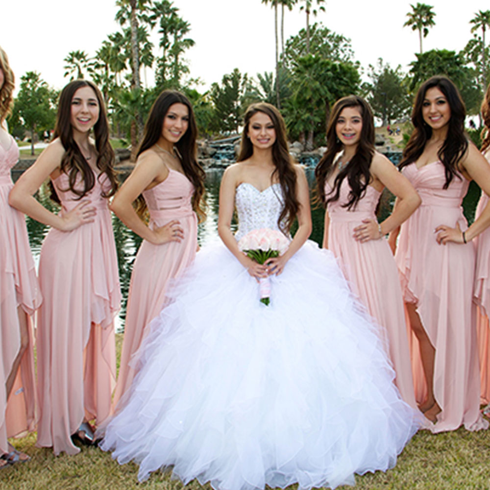 Quince Packages Event Group in Pink