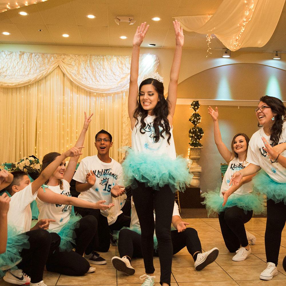 Quinceanera Venue Dancing Group