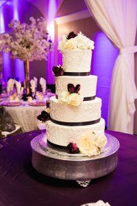 Wedding Ballroom Gallery Cake Display
