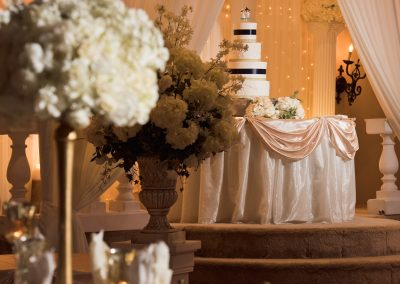 Wedding Ballroom Cake Platform