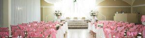 Wedding Ceremony in Phoenix - Bright Pink Ceremony