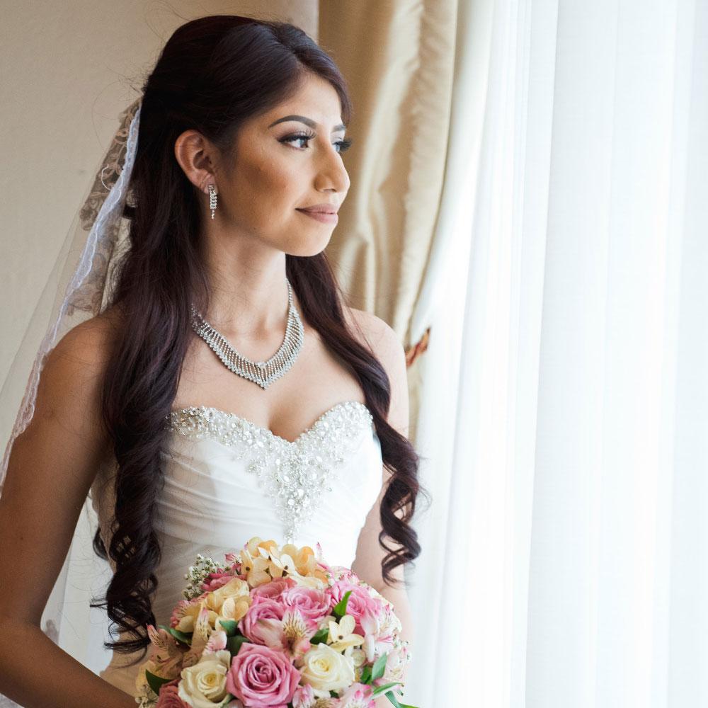 Wedding Ceremony Bridal Room Photos