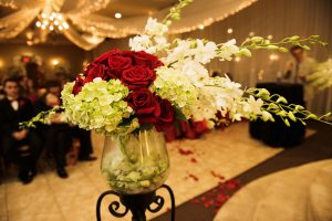 Wedding Venues Red and White Decor