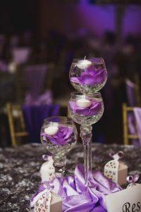 Wedding Ballrooms Mesa Purple Decor