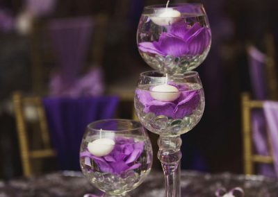 Wedding Ballrooms Mesa Purple Decor
