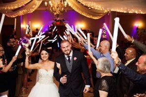 Wedding Reception Hall Bride and Groom