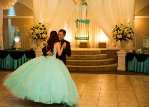 Ballrooms for Quinceaneras Dancing Graphic