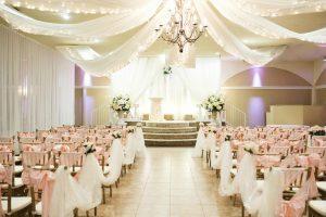 Wedding Ceremonies Indoor Pink Setup