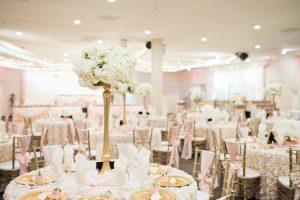 Wedding Ballrooms Light Pink Reception