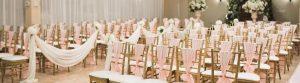 Wedding Ceremonies in Mesa - Pink Setup
