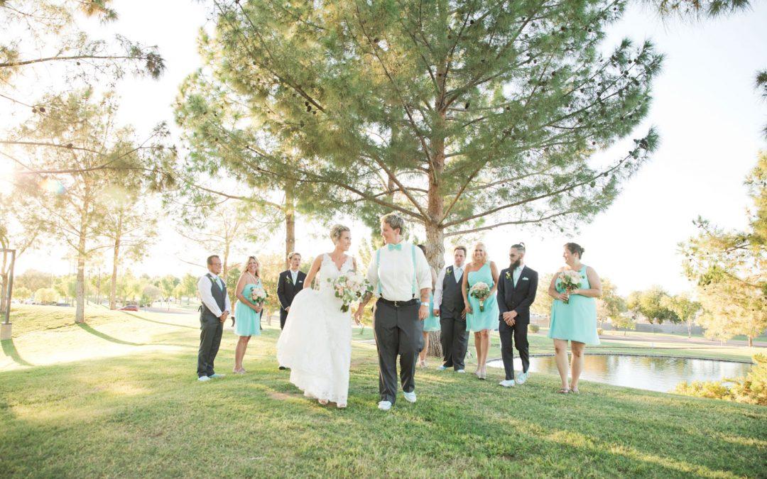 Outdoor Wedding Ceremony with Cristi and Amanda