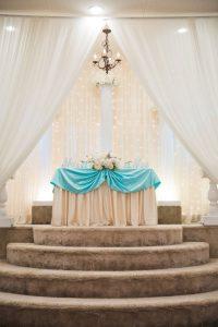 Wedding Ceremony Space - Light Blue Decor