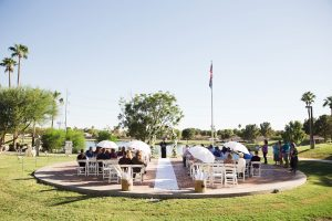 Outdoor Wedding Ceremony with Cristi and Amanda