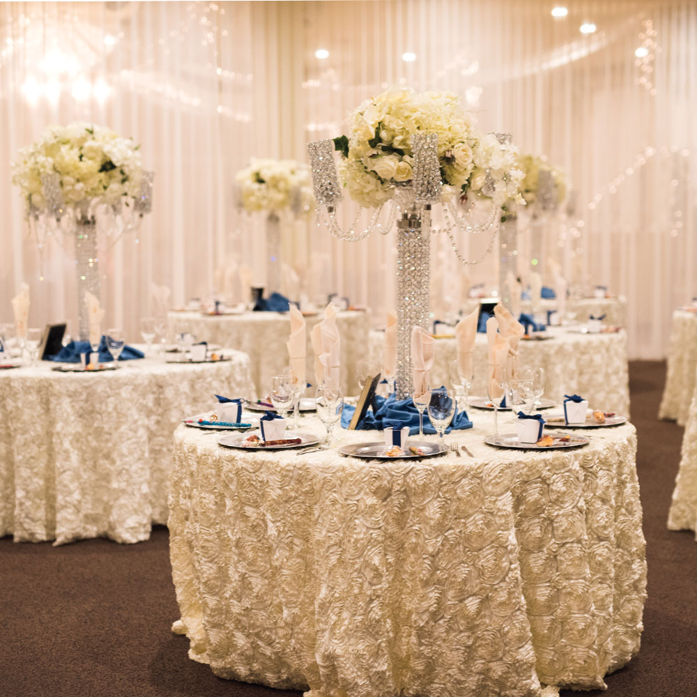 Wedding Ballroom Locations Arizona Navy Blue Theme