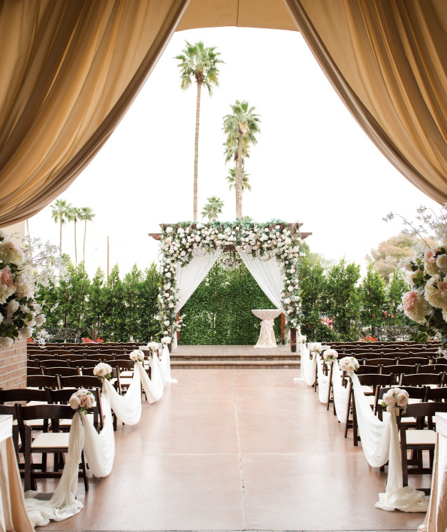 Outdoor Ceremony Venue in Mesa, AZ