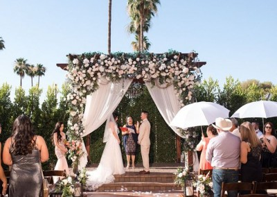 Outdoor Wedding Venue in Mesa
