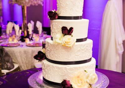 Wedding Ballroom Gallery Cake Display