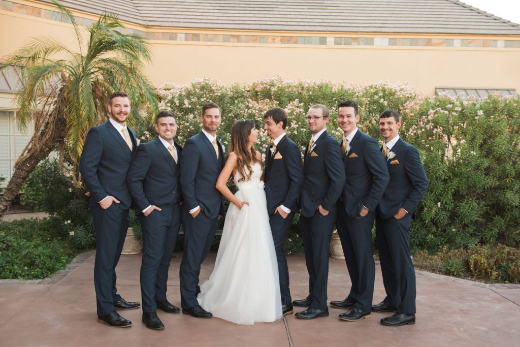Villa Tuscana Reception Hall event showing Wedding Venue Gold and Black Decor