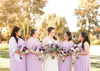 Villa Tuscana Reception Hall event showing bridesmaids