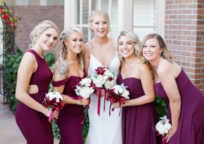 Jessica John October 2018 Bridesmaids