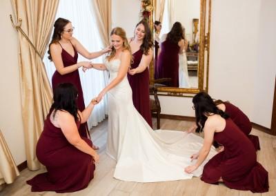 Bridal Suite at Villa Tuscana